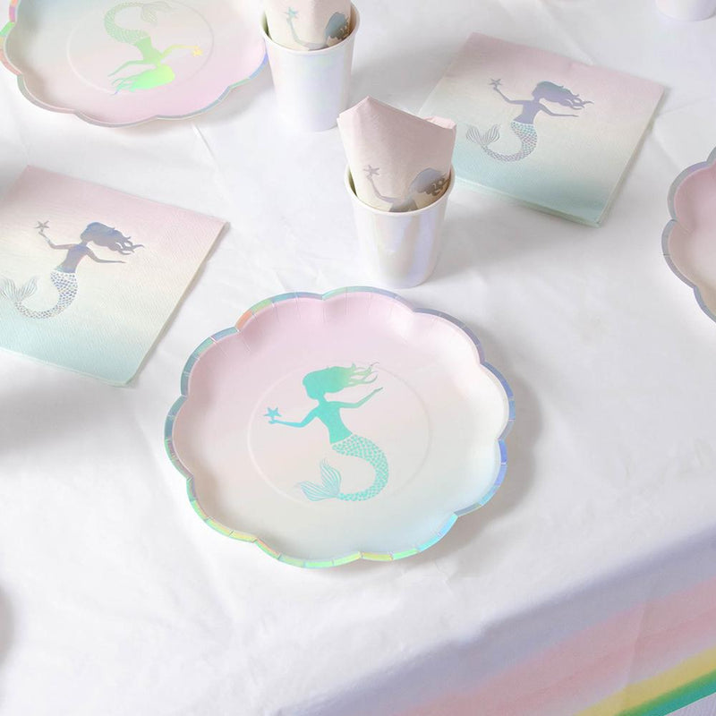 We Heart Mermaid Party Table Set