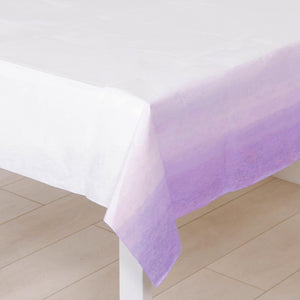 Lilac Ombre Table Cover