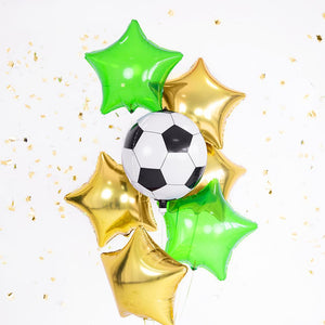 Football Party Helium Orb Balloon