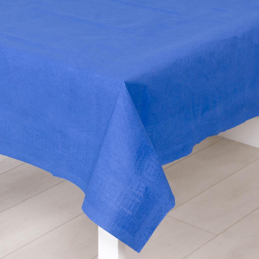 Paper Party Table Cover Royal Blue