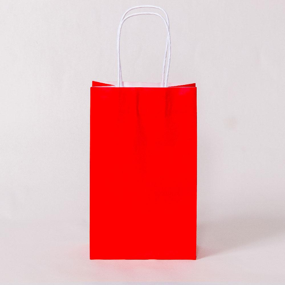 Red Party Bags with Handles (x12)