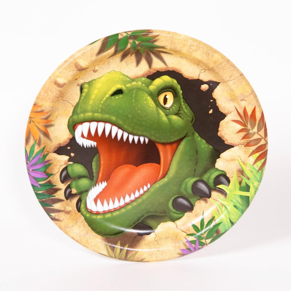 Dino Blast - Paper Party Plates (x8)
