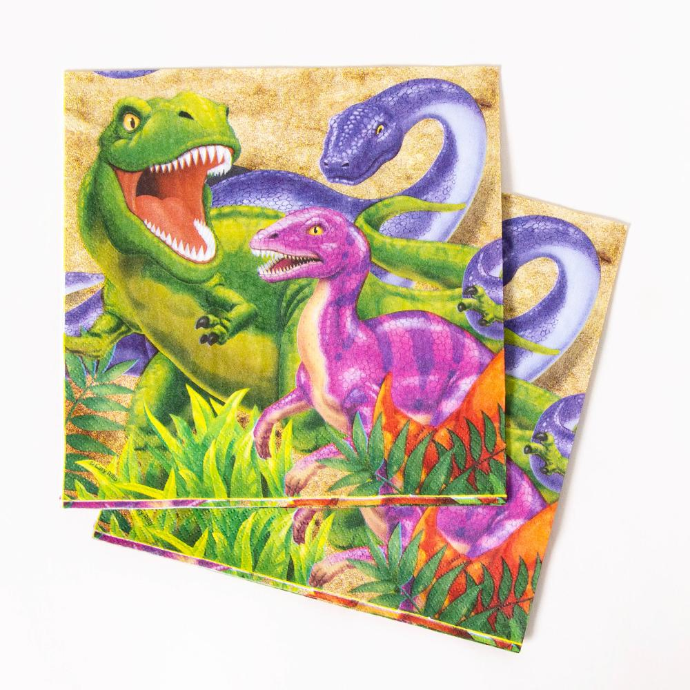 Dino Blast - Party Napkins (x16)