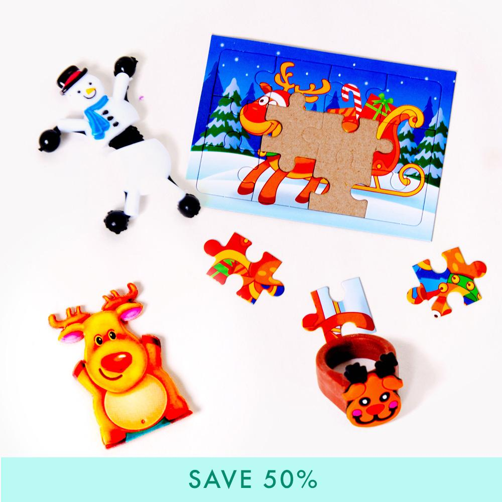 Christmas Stocking Filler Bundle (Puzzle)