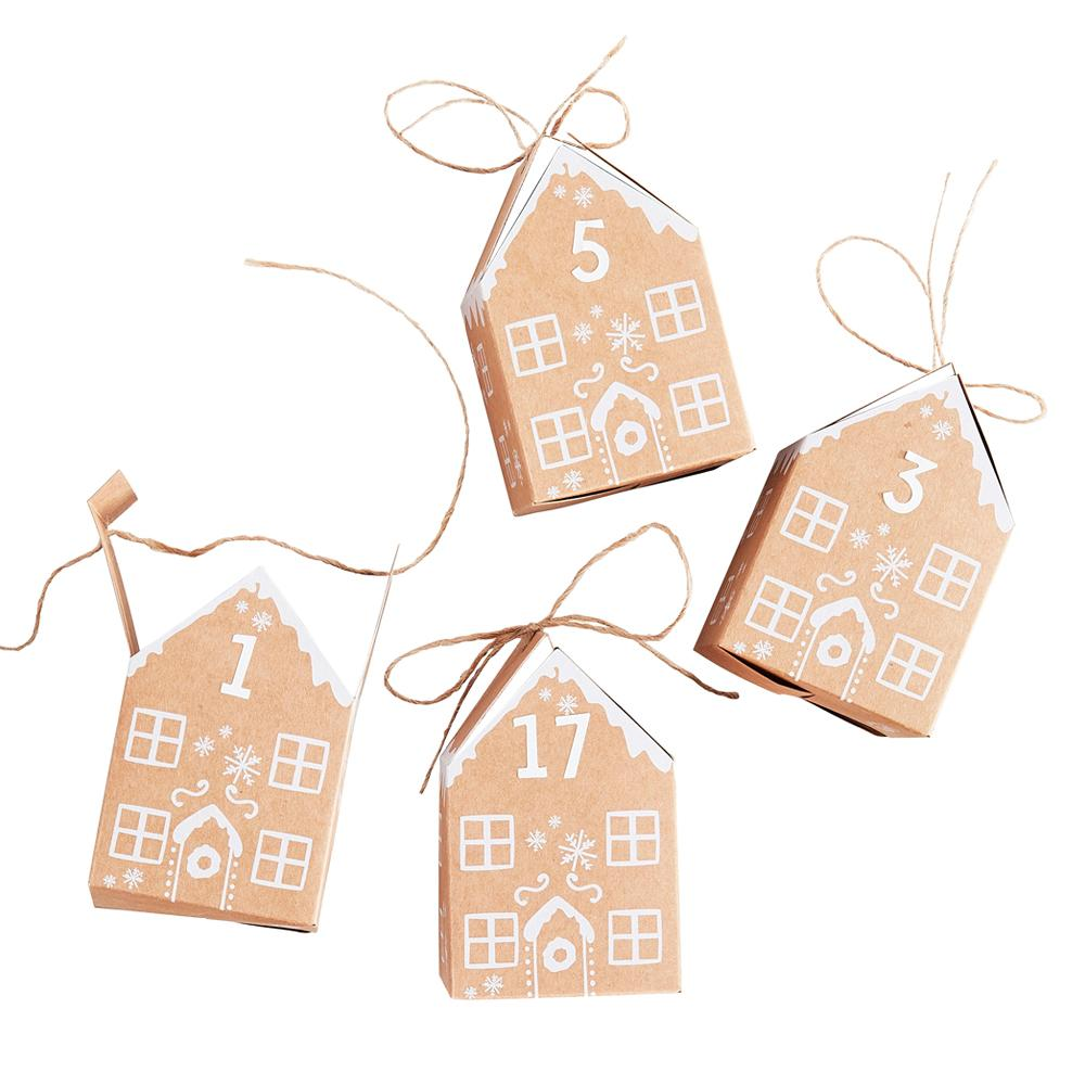Gingerbread House Advent Calendar (x24 boxes)