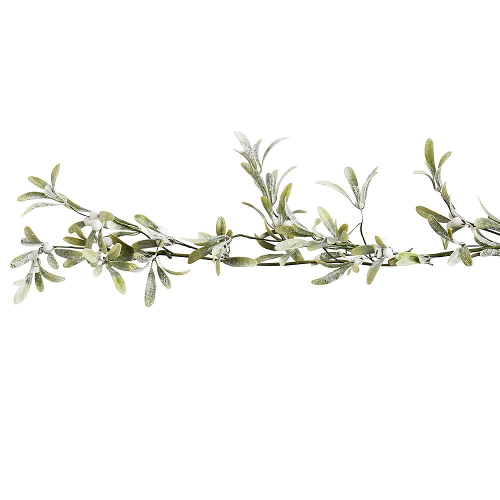 Christmas Mistletoe Foliage Garland