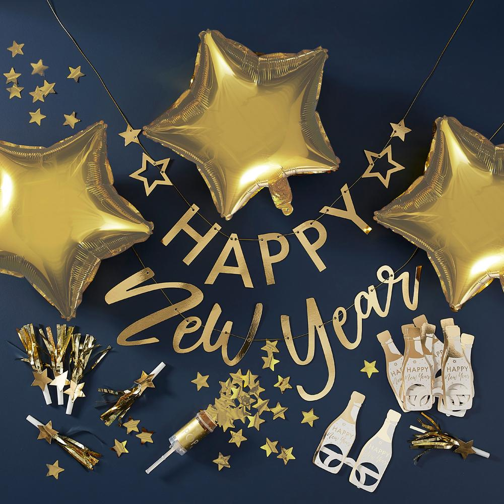 New Year Party Decoration Kit