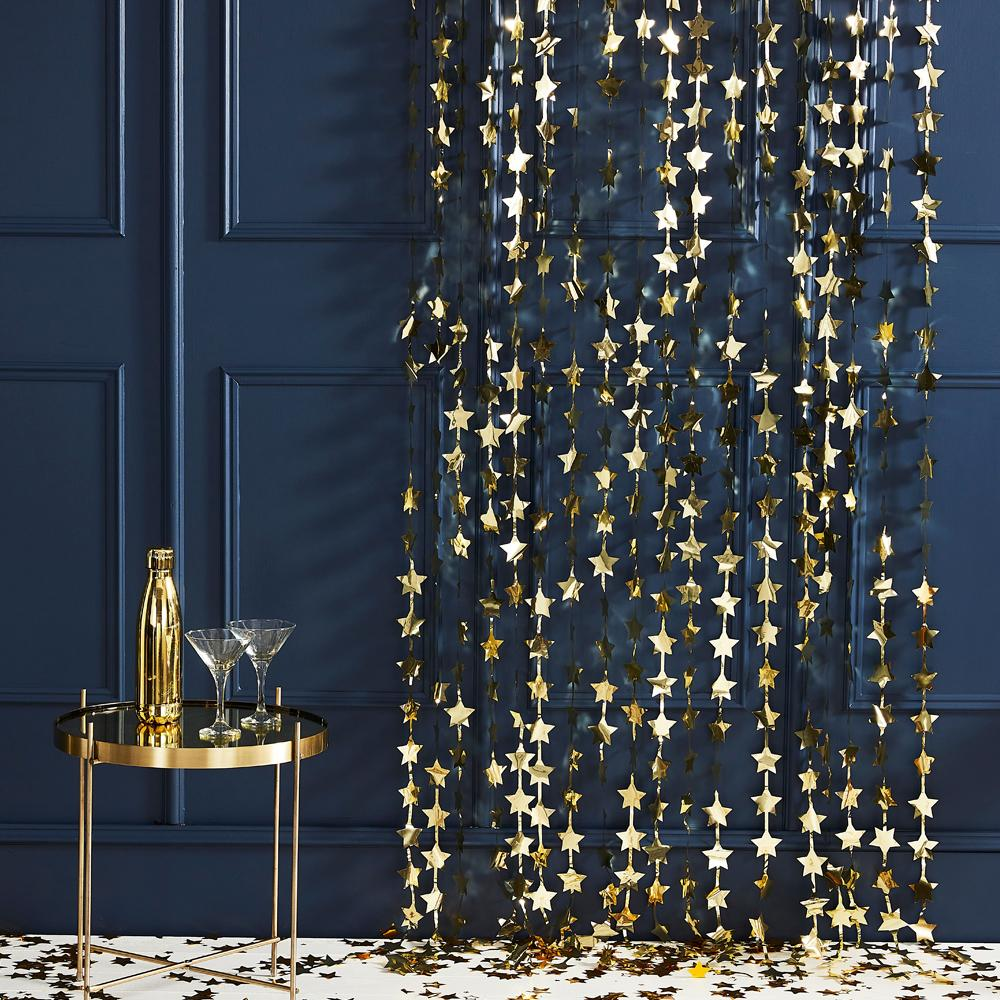 Click to view product details and reviews for Gold Star Backdrop.