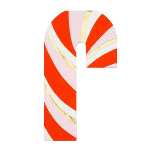 Candy Cane Napkins (x16)