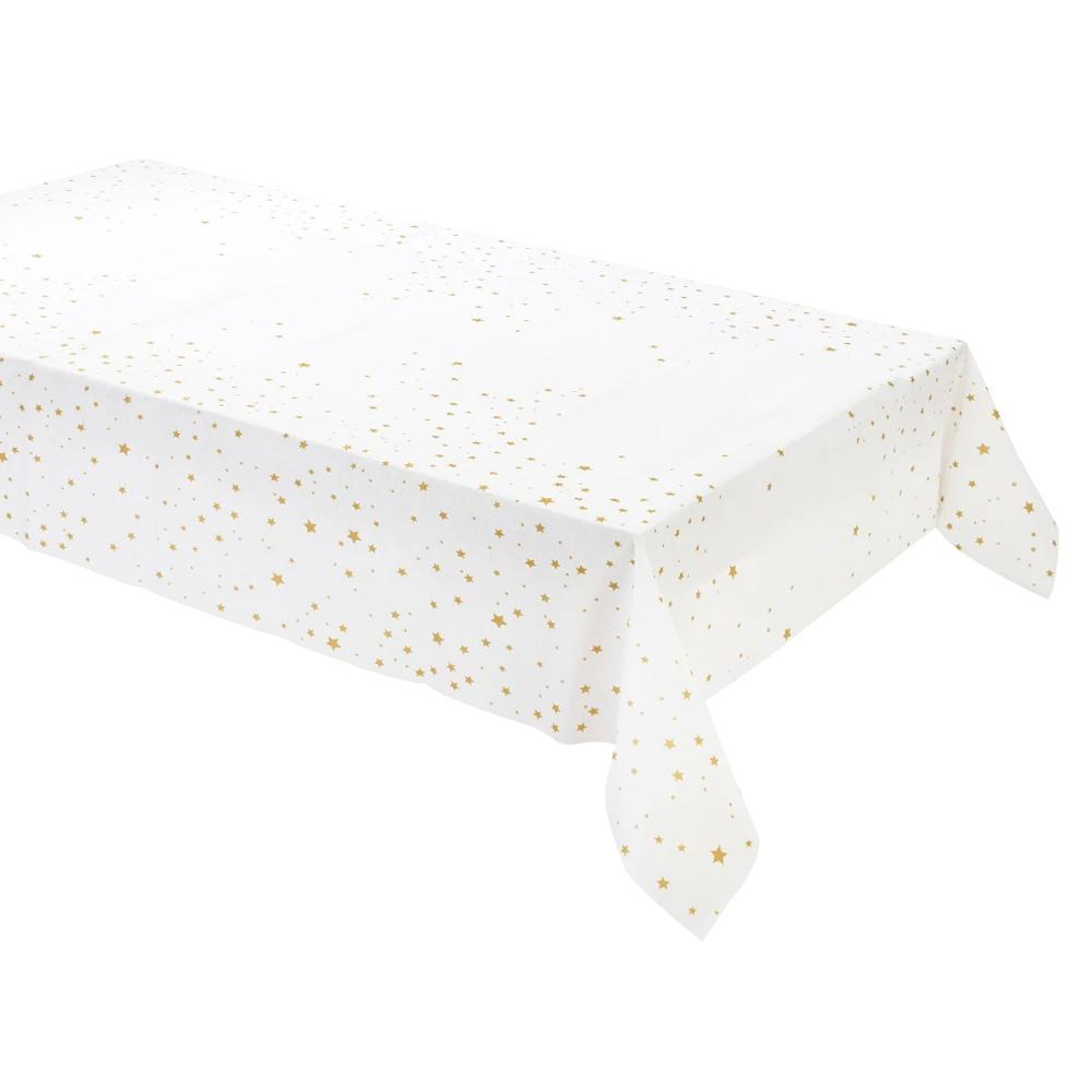 Star Gold Paper Table Cover