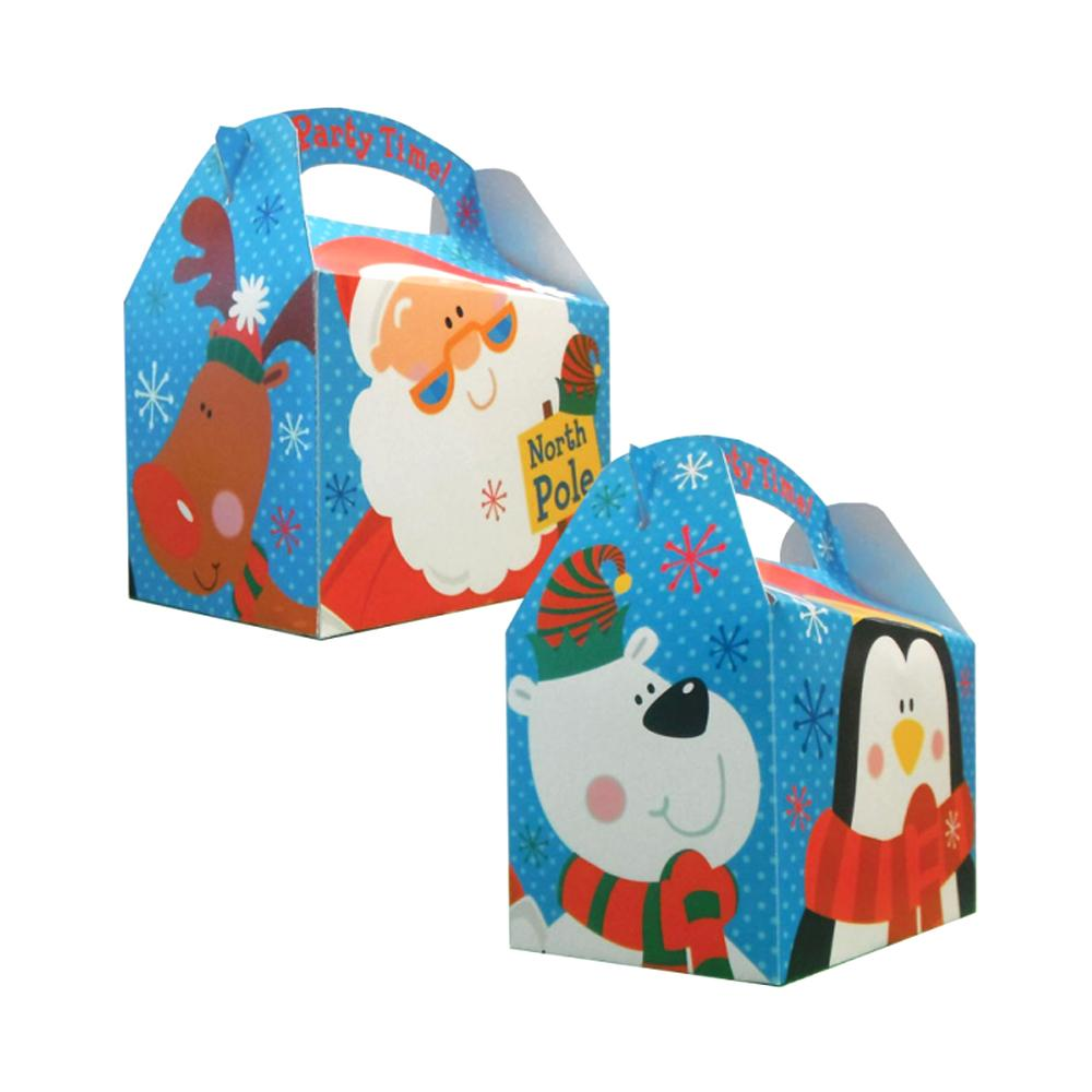 Christmas Penguin and Santa Party Box (each)