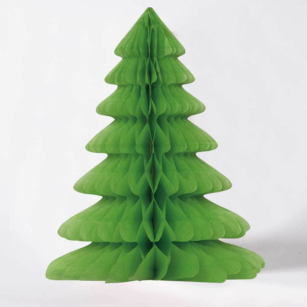 Christmas Tree Honeycomb Decorations