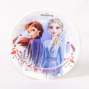 Disney Frozen 2 Paper Party Plates (x8)