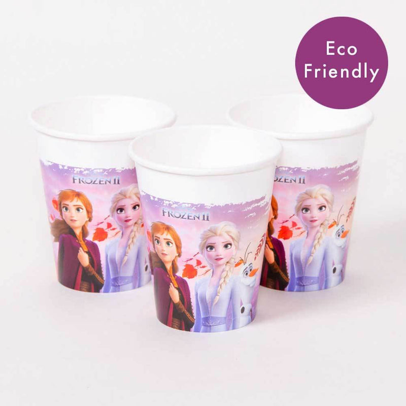 Disney Frozen 2 Paper Party Cups (x8)