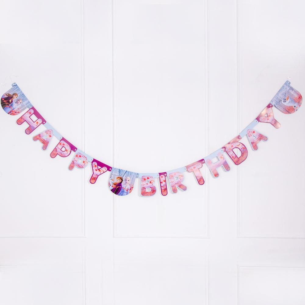 Click to view product details and reviews for Disney Frozen 2 Happy Birthday Banner.