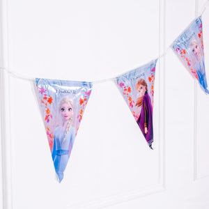 Disney Frozen 2 Party Flag Banner