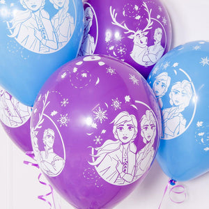 Disney Frozen 2 Latex Party Balloons (x6)