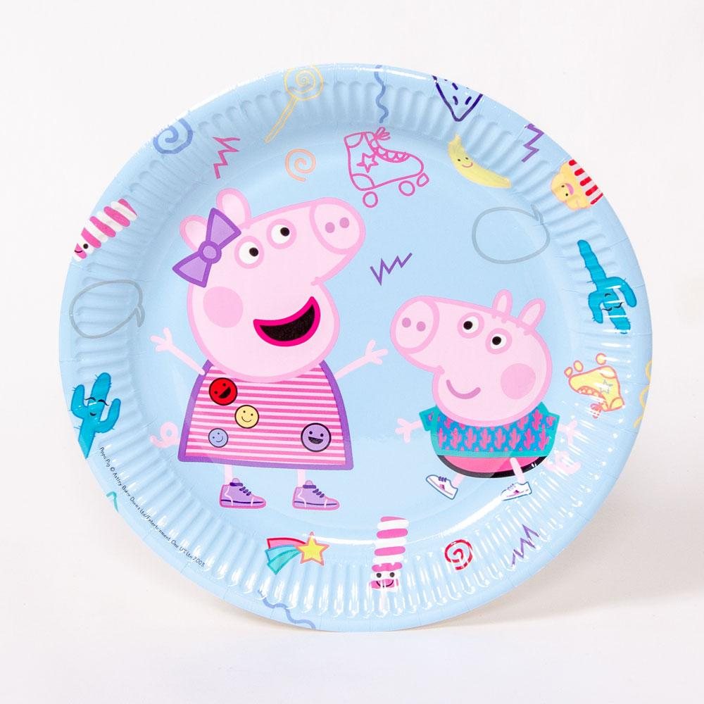 Click to view product details and reviews for Peppa Pig Paper Party Plate Large X8.