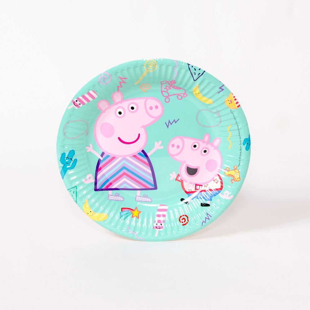 Peppa Pig Paper Party Plate - Medium (x8)