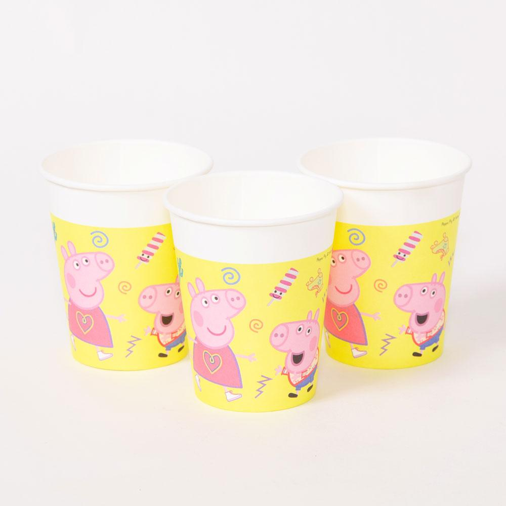 Click to view product details and reviews for Peppa Pig Paper Party Cups X8.
