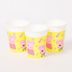 Peppa Pig Paper Party Cups (x8)