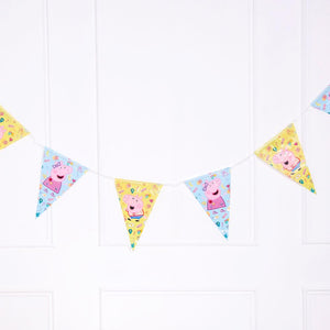 Peppa Pig Party Flag Banner