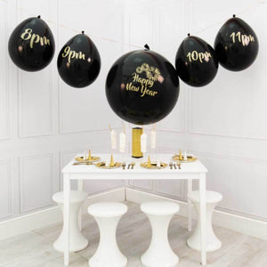 New Year Party Countdown Balloon Garland