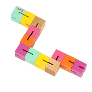 Wood Twisty Blocks