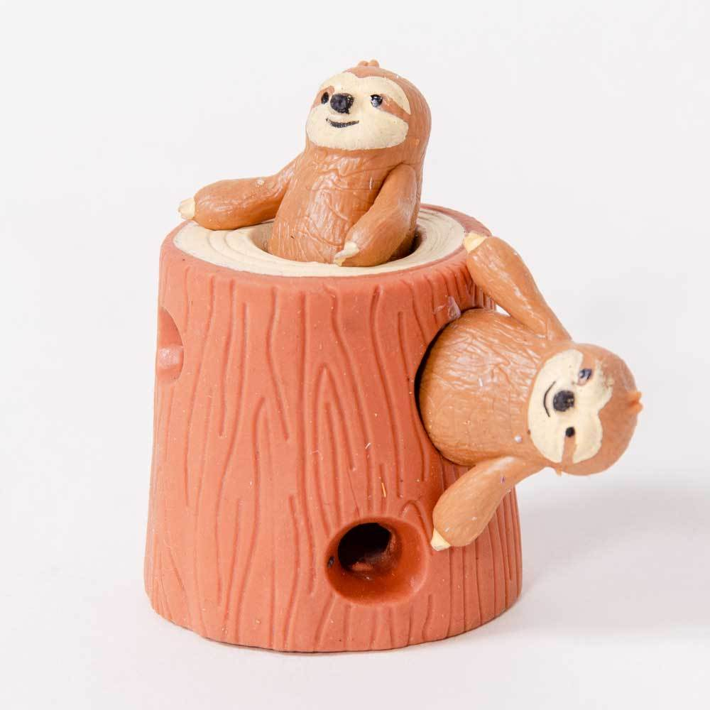 Stretchy Sloth And Stump
