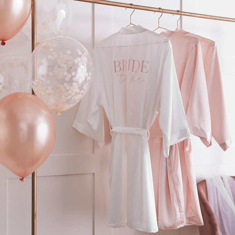 Blush Hen 'Bride To Be' Dressing Gown