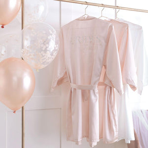 Blush Hen Brides Besties Dressing Gown
