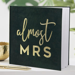 Botanical Gold Foiled Guest Book