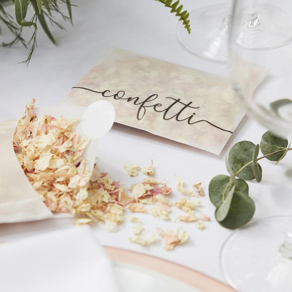 Botanical Dried Petal Confetti