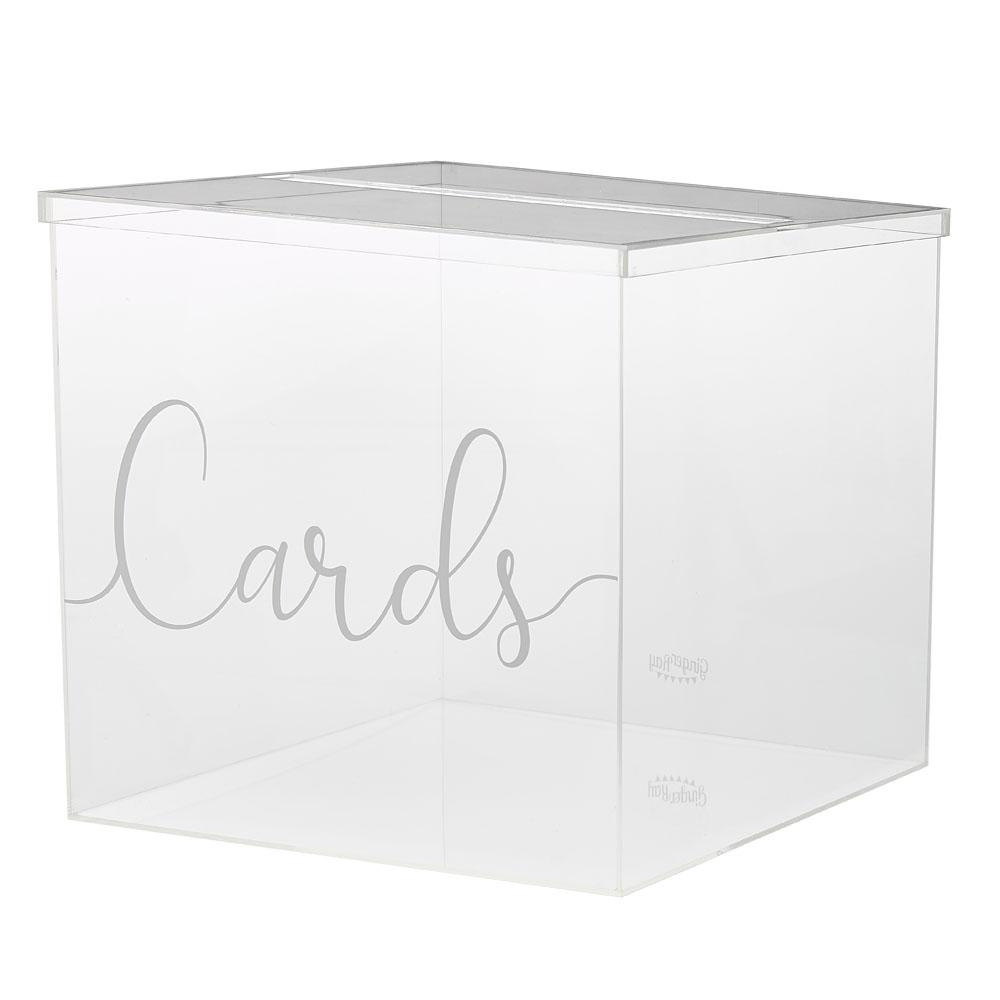 Botanical Acrylic Card Box