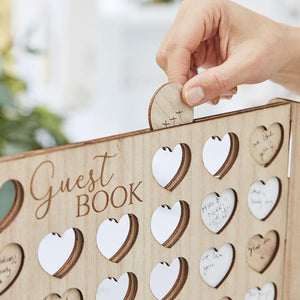 Botanical Four In A Row Guest Book