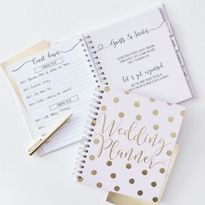Gold Wedding Planner