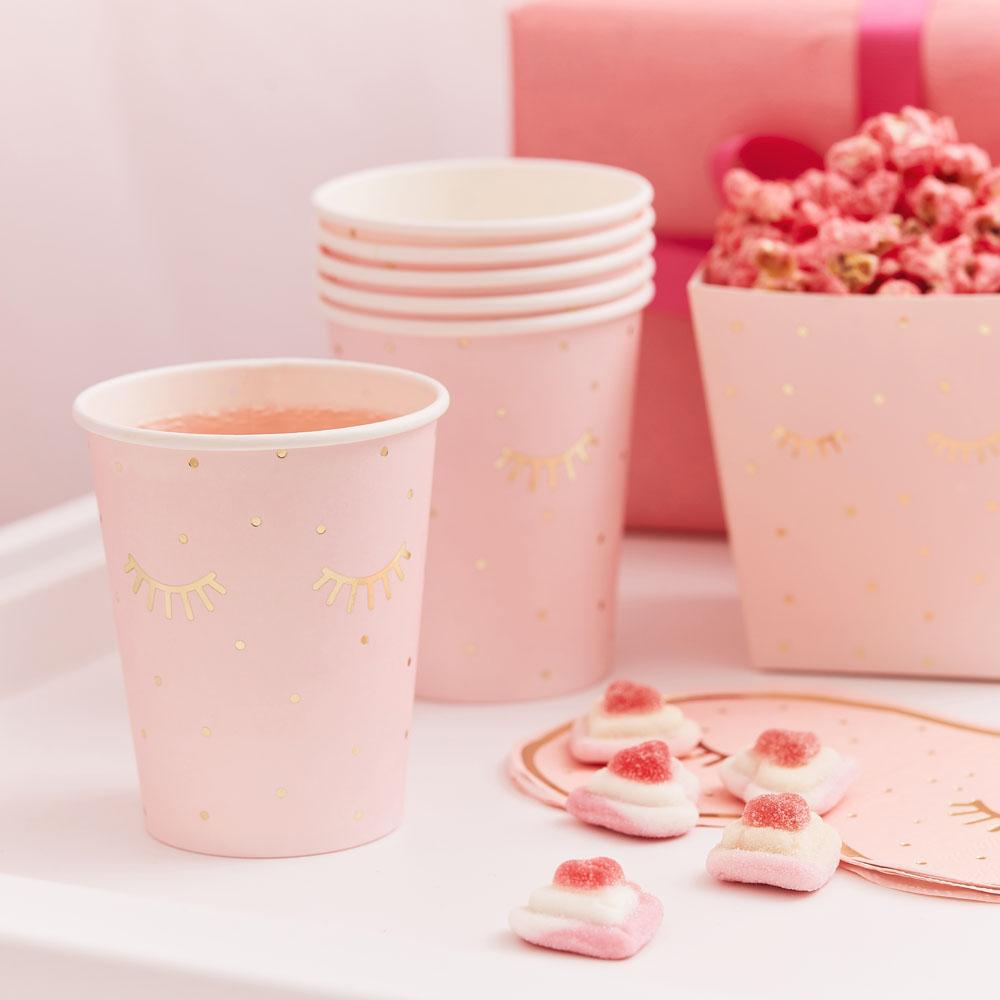 Pamper Party Sleepy Eyes Paper Cups