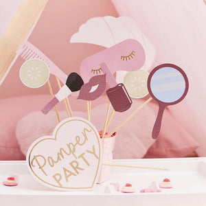 Pamper Party Photobooth Props