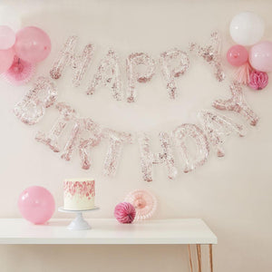 Mix It Up 'Happy Birthday' Confetti Balloons