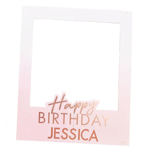 Mix It Up Personalised Happy Birthday Polaroid Frame