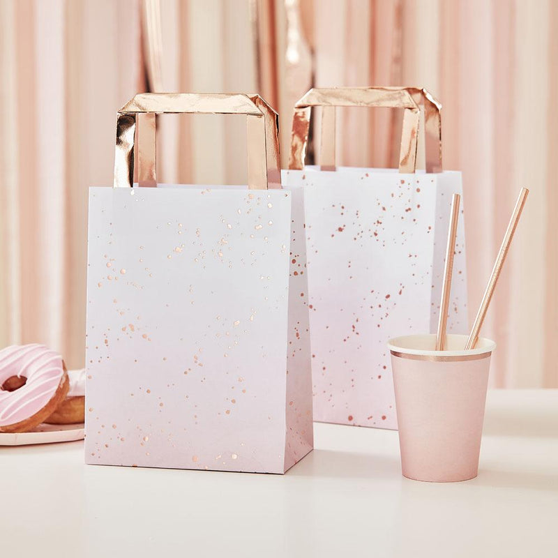 Mix It Up Rose Gold Foiled Party Bags
