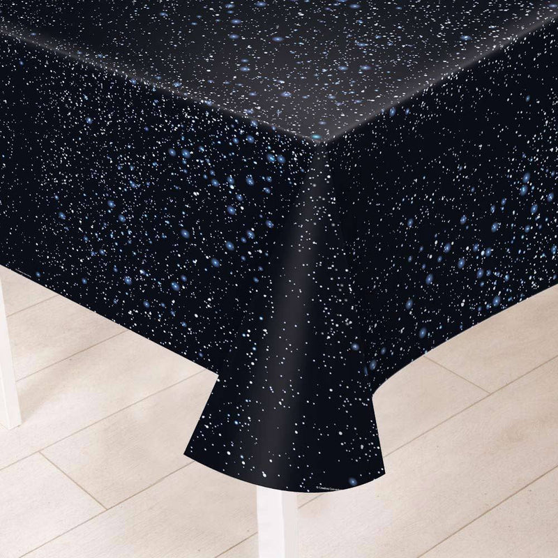 Space Party Plastic Table Cover