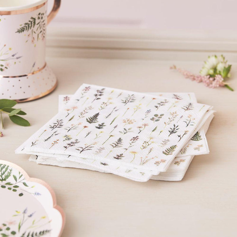 Lets Partea Paper Cocktail Napkin (x16)
