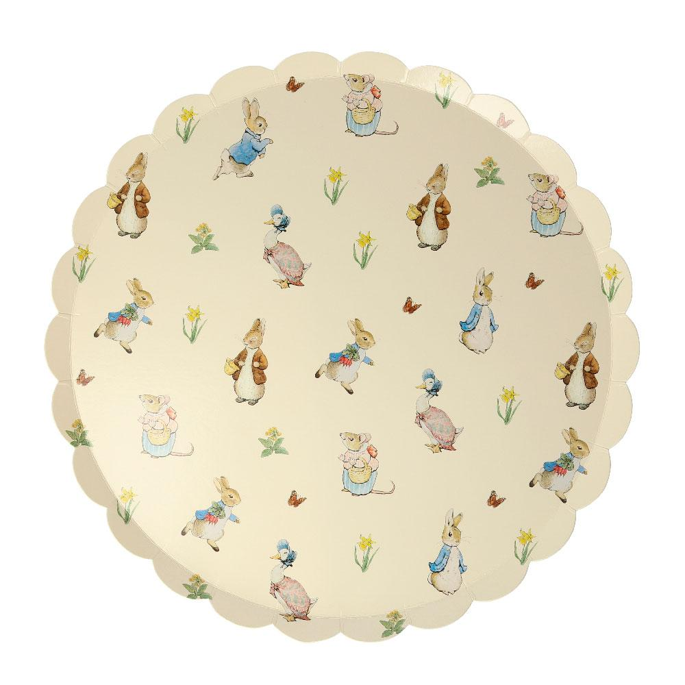 Peter Rabbit & Friends Large Plates (x12)