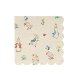 Peter Rabbit & Friends Small Napkins (x20)