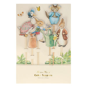 Peter Rabbit & Friends Cake Toppers (x6)
