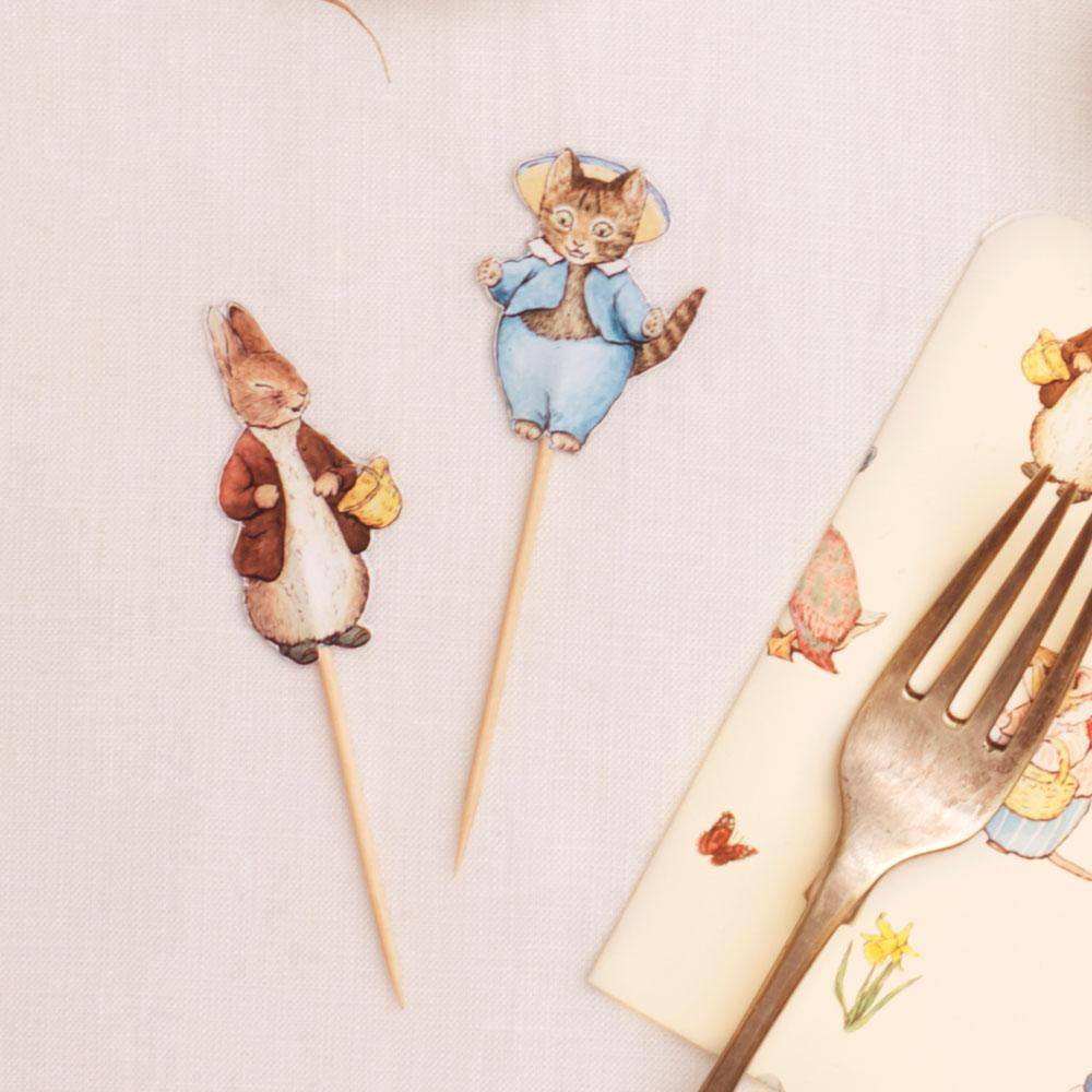 Peter Rabbit & Friends Party Picks (x12)