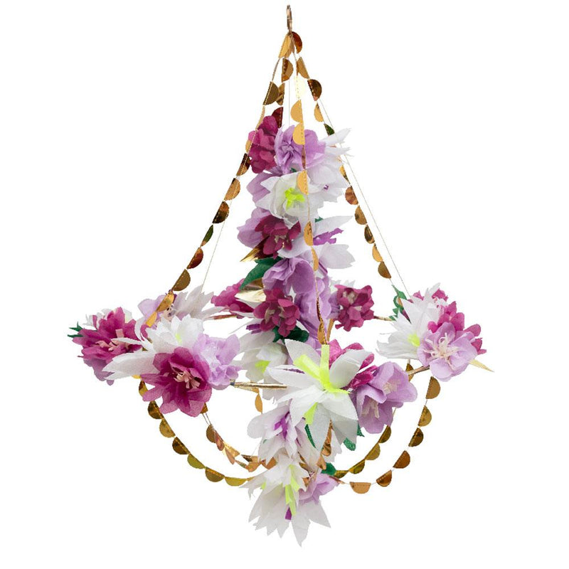 Lilac Blossom Chandelier