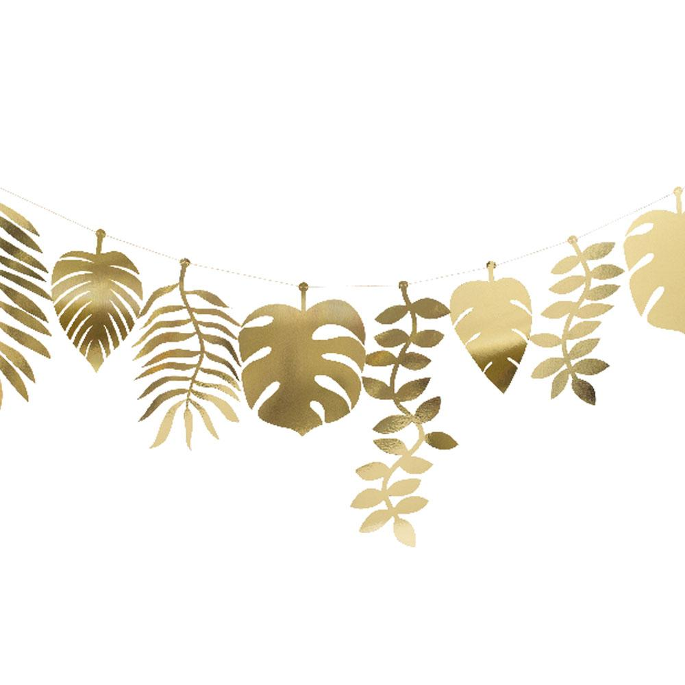 Gold Foliage Large Garland