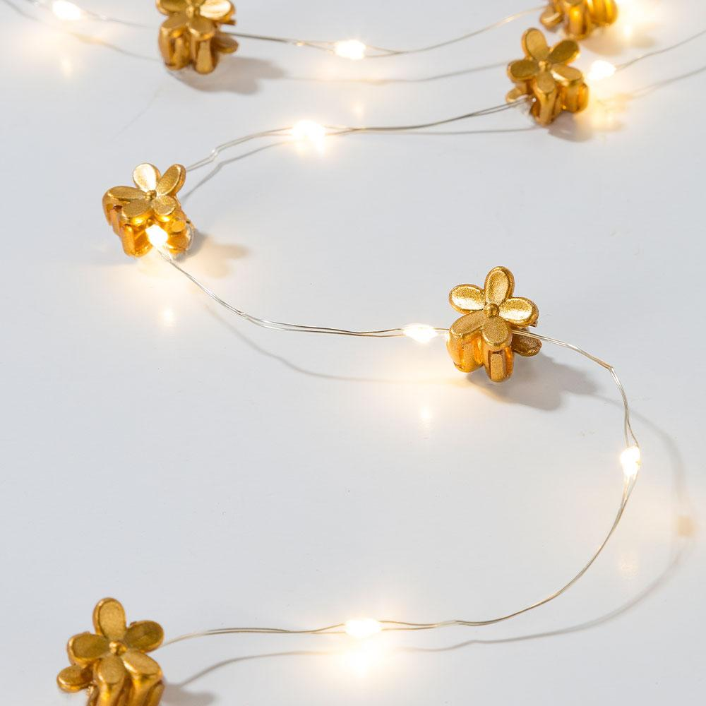 Gold Hair String Lights